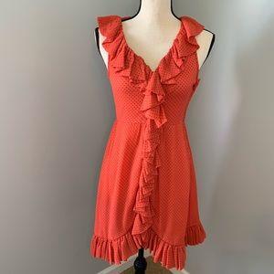Marc Jacobs Polka Dot Sleeveless Dress